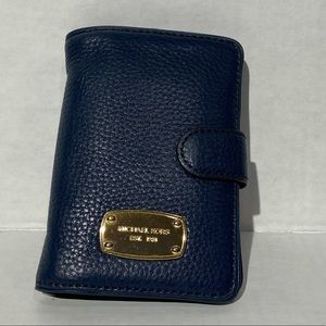 Micheal Kors women's Navy Blue Wallet